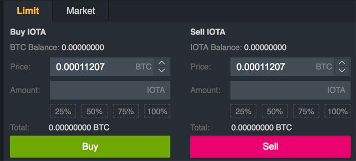 Select IOTA