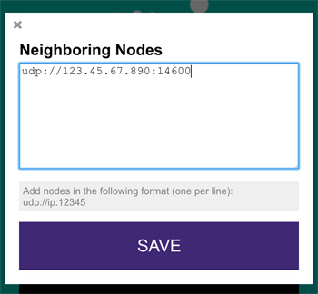 node neighbors